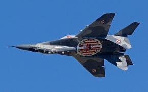 Картинка истребитель, многоцелевой, MiG-29, МиГ-29