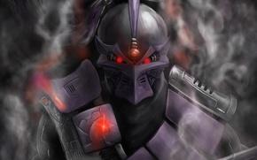 Картинка дым, киборг, smoke, смертельная битва, грозный, mortal kombat, cyborg