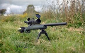 Картинка оптика, винтовка, снайперская, сошка, Remington 700