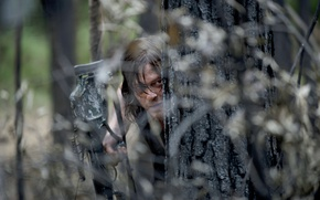 Картинка засада, The Walking Dead, Ходячие мертвецы, Норман Ридус, Дэрил