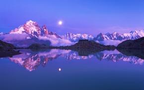 Обои горы, франция, альпы