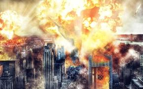 Картинка атомный взрыв, ядерная бомба, goodbye america