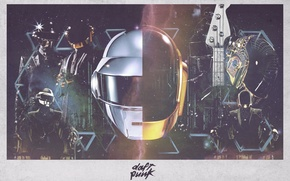 Daft Punk Helmets Through The Ages Feature  Genius