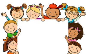 Картинка Дети, Душа, Друзья, Поздравления, Фоторамка