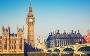 Картинка Англия, Лондон, Биг-Бэн