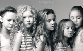 Картинка дети, поп, музыкальная группа, Open Kids