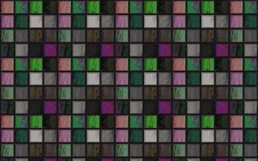 Картинка мозаика, фон, стена, обои, цвет, квадраты, решётка, текстуры