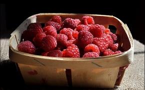 Картинка сад, дача, ягоды, вкусно, натюрморт, малина, еда, лето