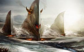 Картинка огонь, убежище, guild wars:eye of the north