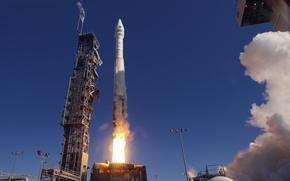 Картинка ракета, старт, Космодром