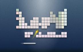 Обои химических, Менделеева, игра, элементов, периодическая, таблица, система, химия