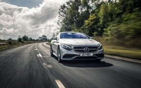 Картинка Mercedes-Benz, мерседес, AMG, Coupe, амг, S-Class, 2015, C217