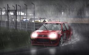 Картинка volkswagen, Golf, GTI, Gran Turismo 5