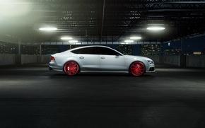 Картинка car, tuning, Vossen Wheels, Elusive Motoring, Audi S7
