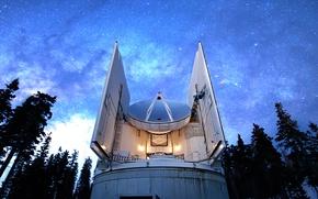 Картинка Arizona, Radio Observatory, Mount Graham International Observatory