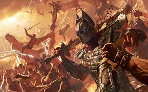 Картинка Игры, Битва, Фантастика, Воители, Age of Conan: Hyborian Adventures