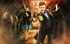 Обои сериал, Doctor Who, Доктор кто, Мэтт Смит, Matt Smith
