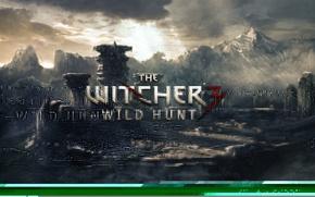 Картинка ведьмак, rpg, дикая охота, wild hunt, the witcher 3, cd projekt red