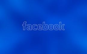 Картинка текст, сеть, логотип, facebook, социальная