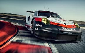 Картинка car, Porsche, supercar, Porsche 911, asphalt, 911 Rsr, Porsche 911 Rsr