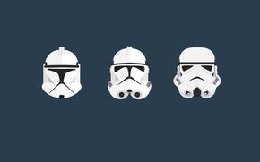 Картинка Star Wars, trooper, stormtrooper, clone, helm