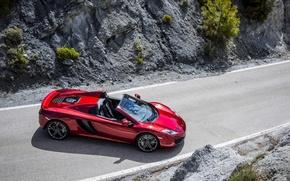 Картинка McLaren, Spider, MP4-12c, carwallpaper