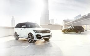 Картинка внедорожник, Range Rover, tuning, Ares Design, 600 Supercharged
