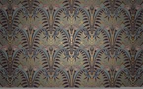 Картинка линии, узор, краски, цвет, орнамент, симметрия