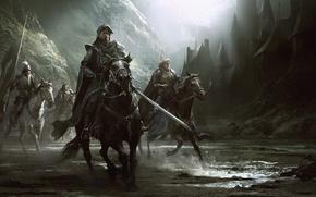 Картинка замок, Knights, division