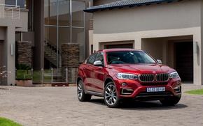 Картинка гараж, BMW, офис, Sport, xDrive, F16, 2015, ZA-spec, бмв. двор