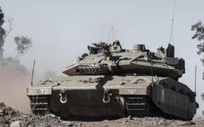 Картинка танк, боевой, основной, Израиля, «Меркава», Merkava IV