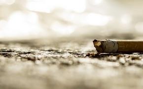 Картинка макро, фон, сигарета