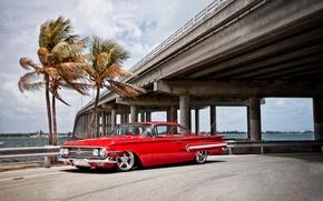 Обои auto wallpapers, chevy, cars, 1960, impala, авто обои, тачки, авто фото, chevrolet
