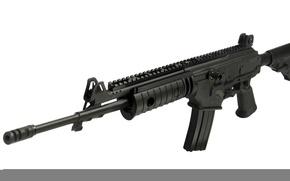 Картинка оружие, автомат, белый фон, израиль, Ace, IWI, Israel Weapon Industries