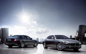 Картинка Maserati, auto, quattro, porte