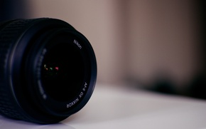 Картинка Nikon, camera, lens