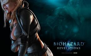 Картинка Capcom, Обитель Зла: Откровение, umbrella, волосы, мутант, грудь, Resident Evil, Водолазный костюм, Resident Evil: Revelations, …