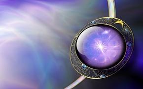 Картинка солнце, рисунок, шар, месяц, кольцо, сфера