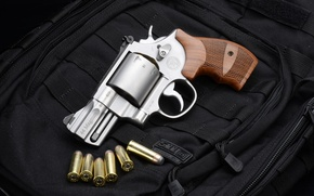 Картинка патроны, револьвер, revolver, Smith & Wesson, Смит-Вессона
