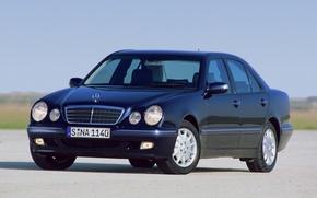 Картинка Mercedes-Benz, Mercedes, E-class, E-Klasse, 1999, E-класс, W210, Executivklasse, Лупатый, Глазастый, E240