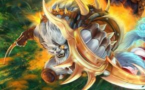 Картинка ярость, охотник, lol, League of Legends, rengar, Pridestalker
