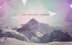 Картинка wallpaper, design, art, mountains