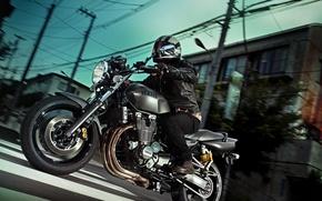 Картинка Yamaha, motorcycle, speed, classic, Moto, xjr1300