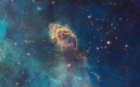 Обои Carina Nebula, NASA, Hubble SM4 ERO Team, ESA