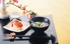 Обои япония, кухня, еда