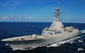 Картинка gun, sea, NATO, ship
