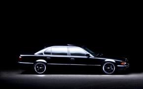 Картинка обои, бмв, BMW, Car, wallpapers, E38