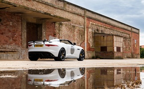 Обои F-Type, Project 7, UK-spec, Jaguar, 2014, ягуар