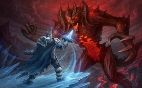 Обои blizzard, diablo, warcraft, arthas, Heroes of the Storm
