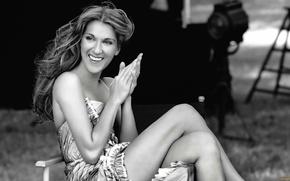 Картинка ножки, улыбка, Celine Dion, Селин Дион, певица